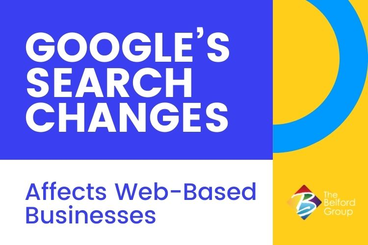 Google's Search Changes Affects Web-Based Businesses