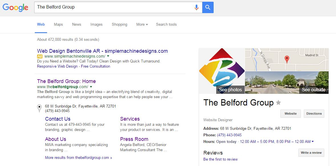 SEO The Belford Group
