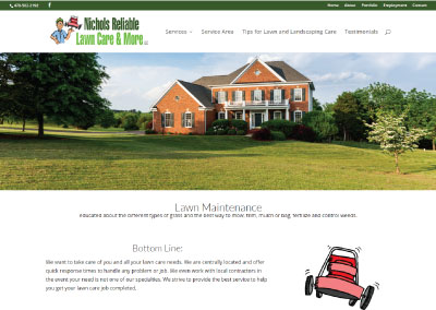 Nichols Reliable Lawn Care