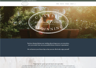 Classic Beginning Wedding & Events
