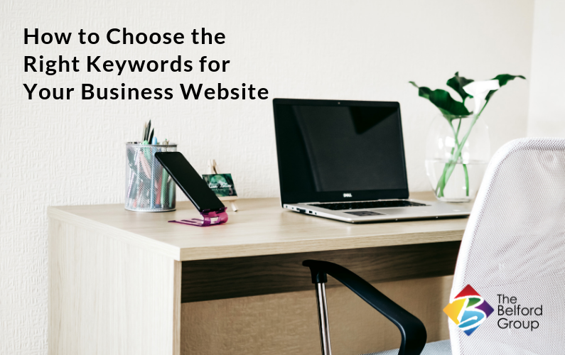 How To Choose the Right Keywords For Your Business Website
