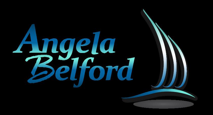 personal branding example: angela belford logo